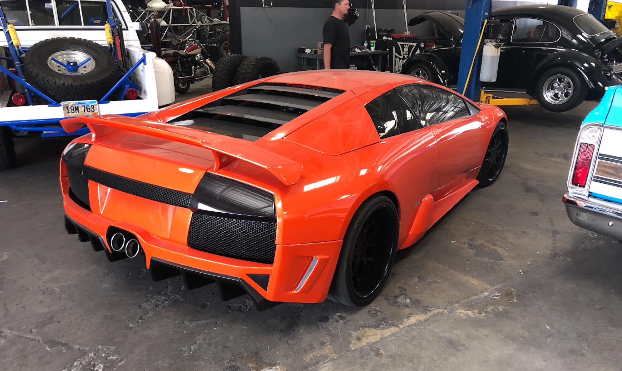 Lamborghini Murcielago rear 3/4