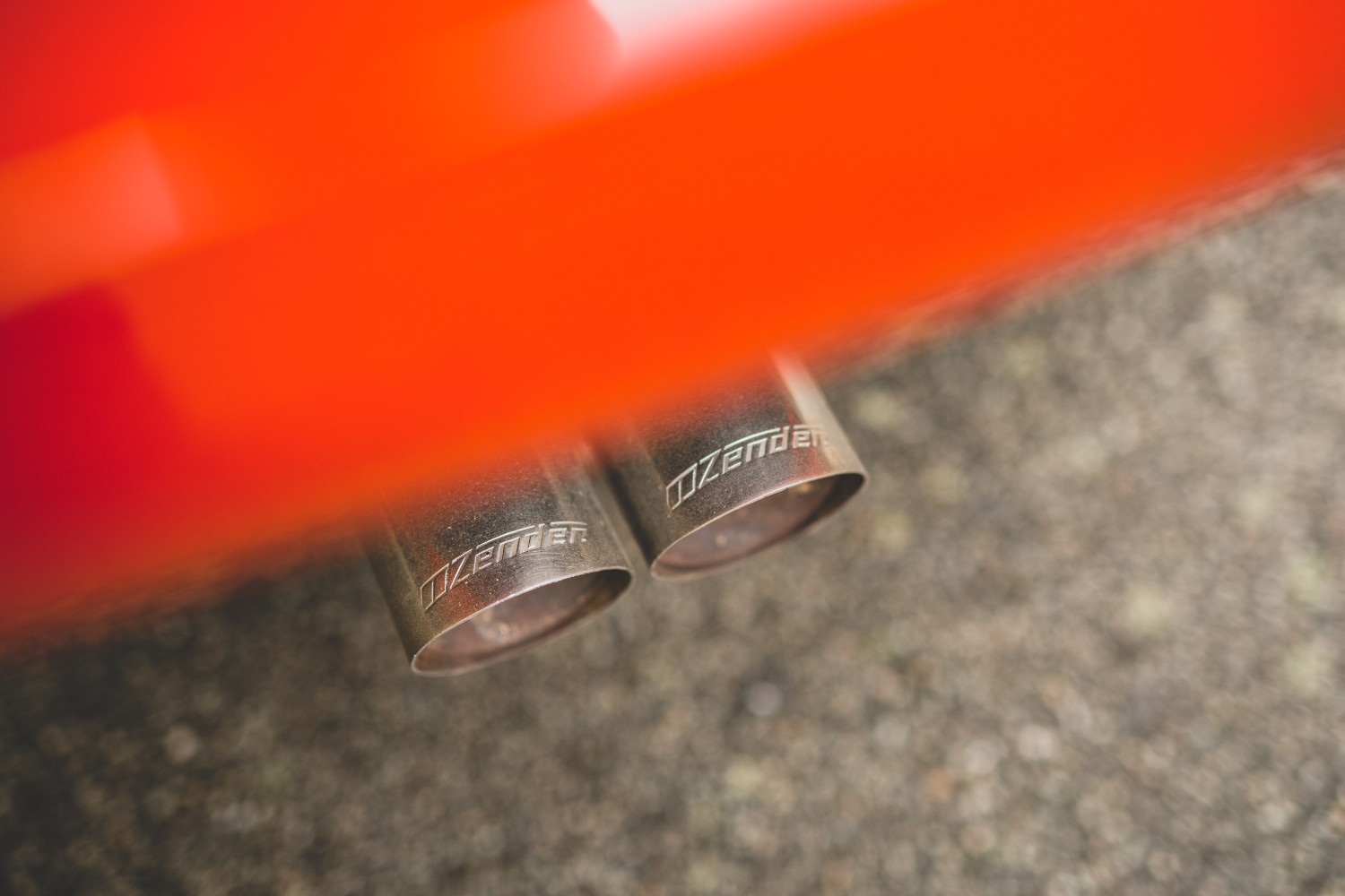 Alfa Romeo exhaust tips
