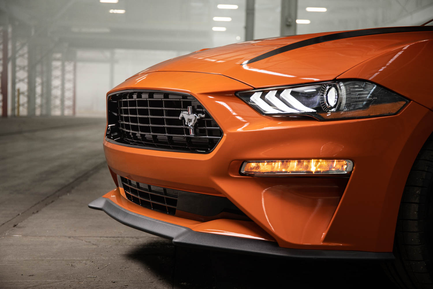 2020 Ford Mustang High Performance Package nose