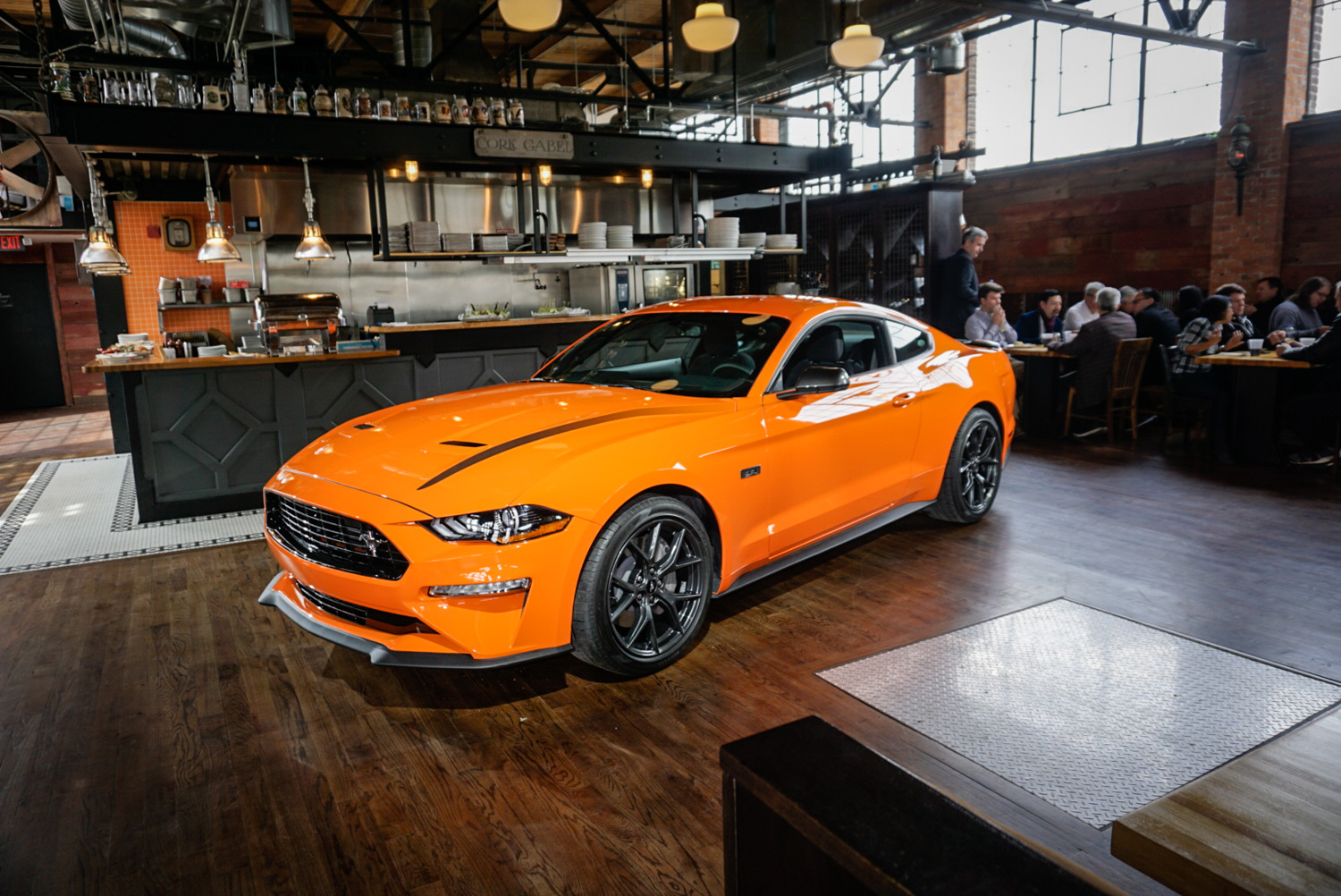 2020 Ford Mustang Ecoboost High Performance Package 3/4 front high
