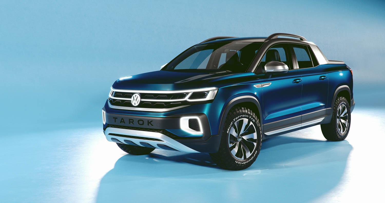 Volkswagen Tarok concept front 3/4