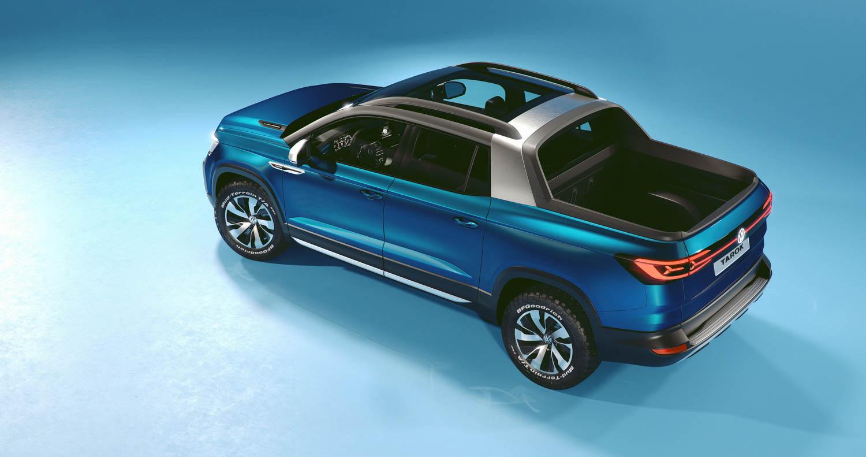 Volkswagen Tarok concept overhead rear 3/4
