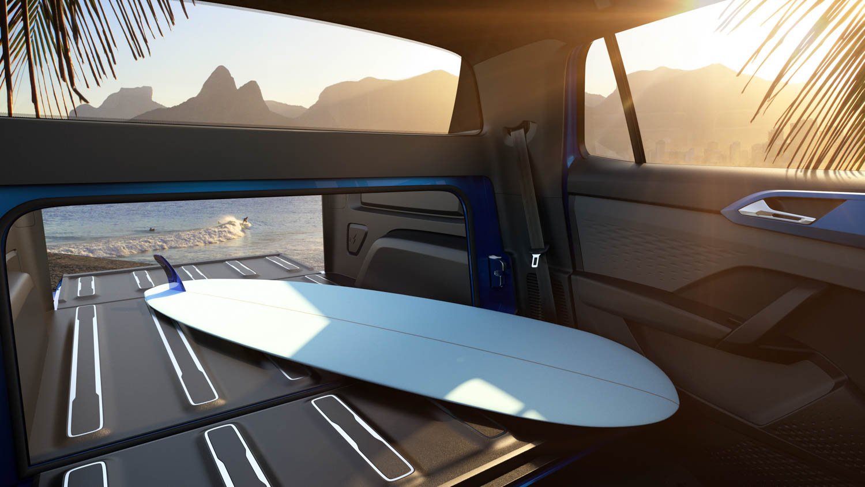 Volkswagen Tarok concept pickup surf board