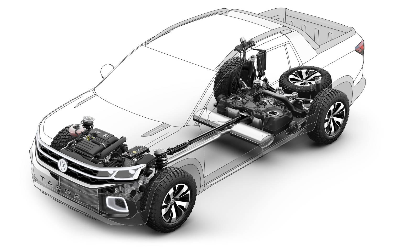 Volkswagen Tarok concept internals