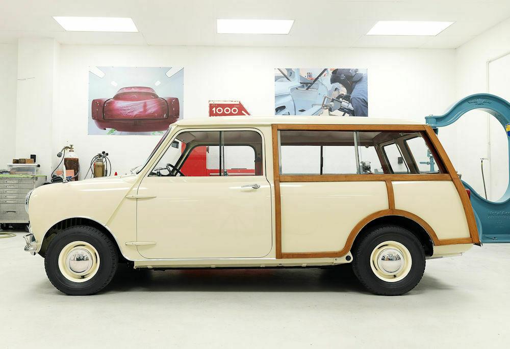 1964 Austin Mini Countryman side profile