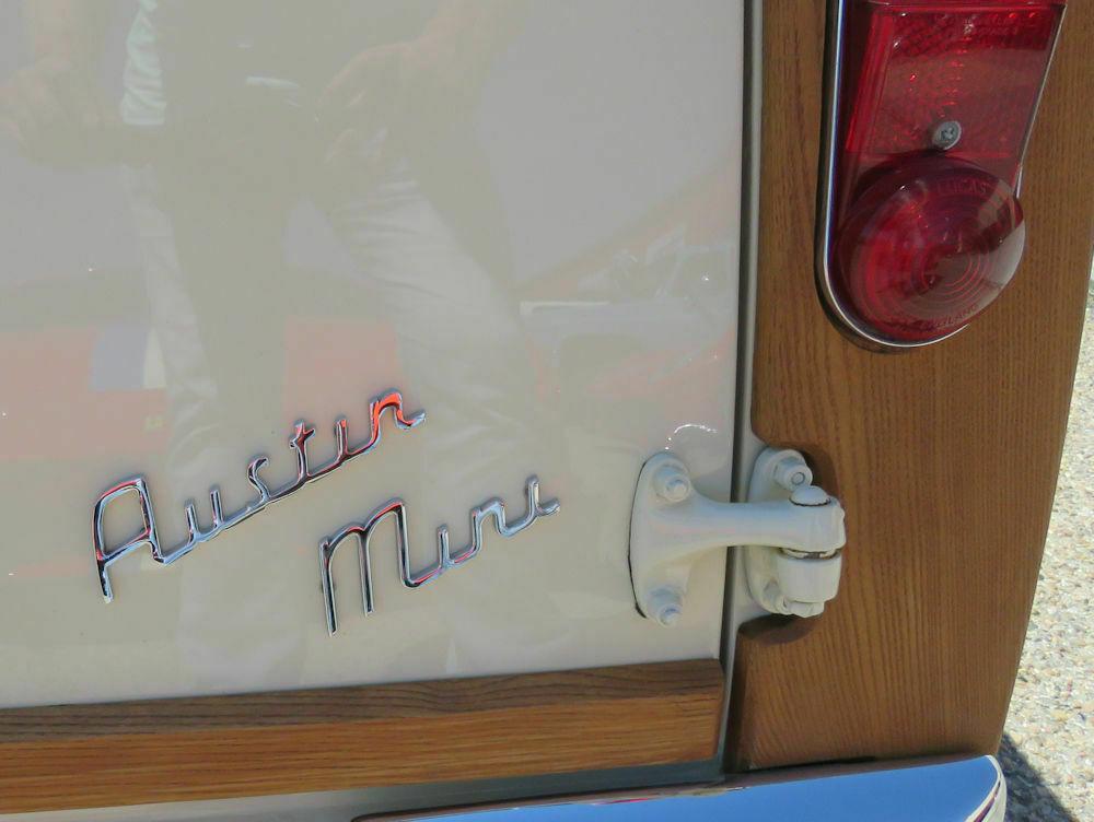 1964 Austin Mini Countryman badge