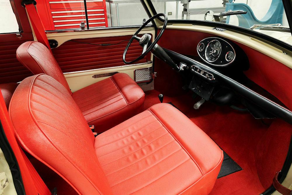 1964 Austin Mini Countryman interior