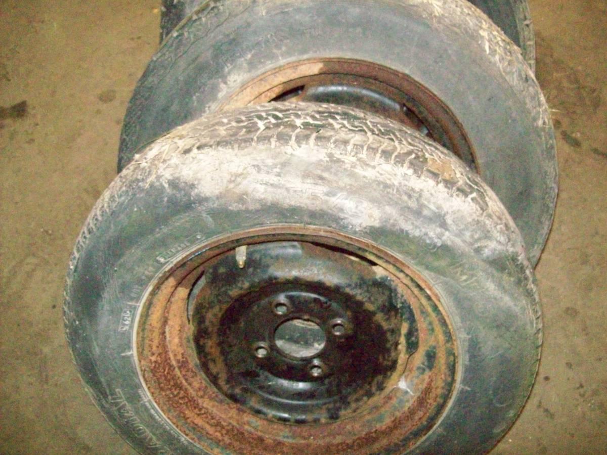 1980 Comuta-Car flat tire