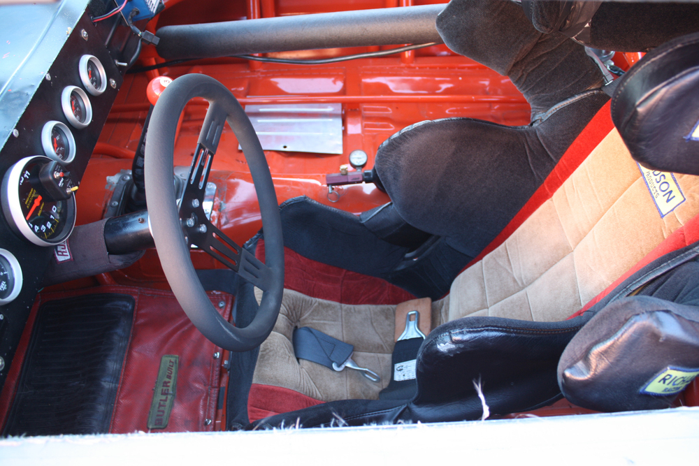 "1977 Chevrolet Nova ""Dale Earnhardt NASCAR"" interior seat"
