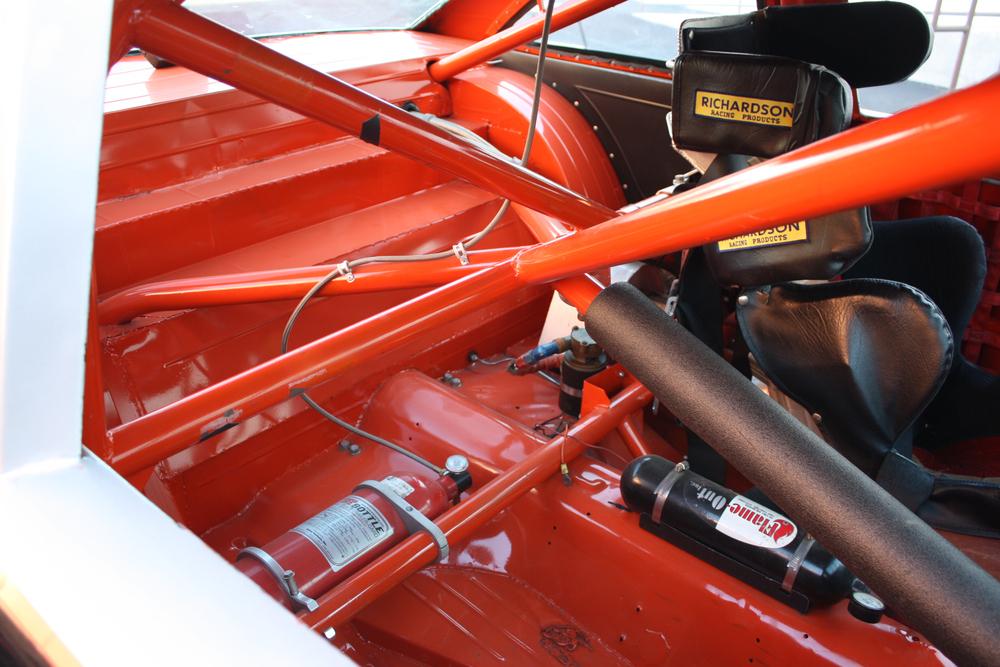 "1977 Chevrolet Nova ""Dale Earnhardt NASCAR"" rear roll bars"