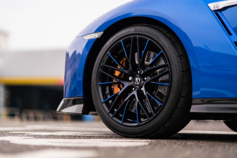 Nissan 50th Anniversary GT-R wheel detail