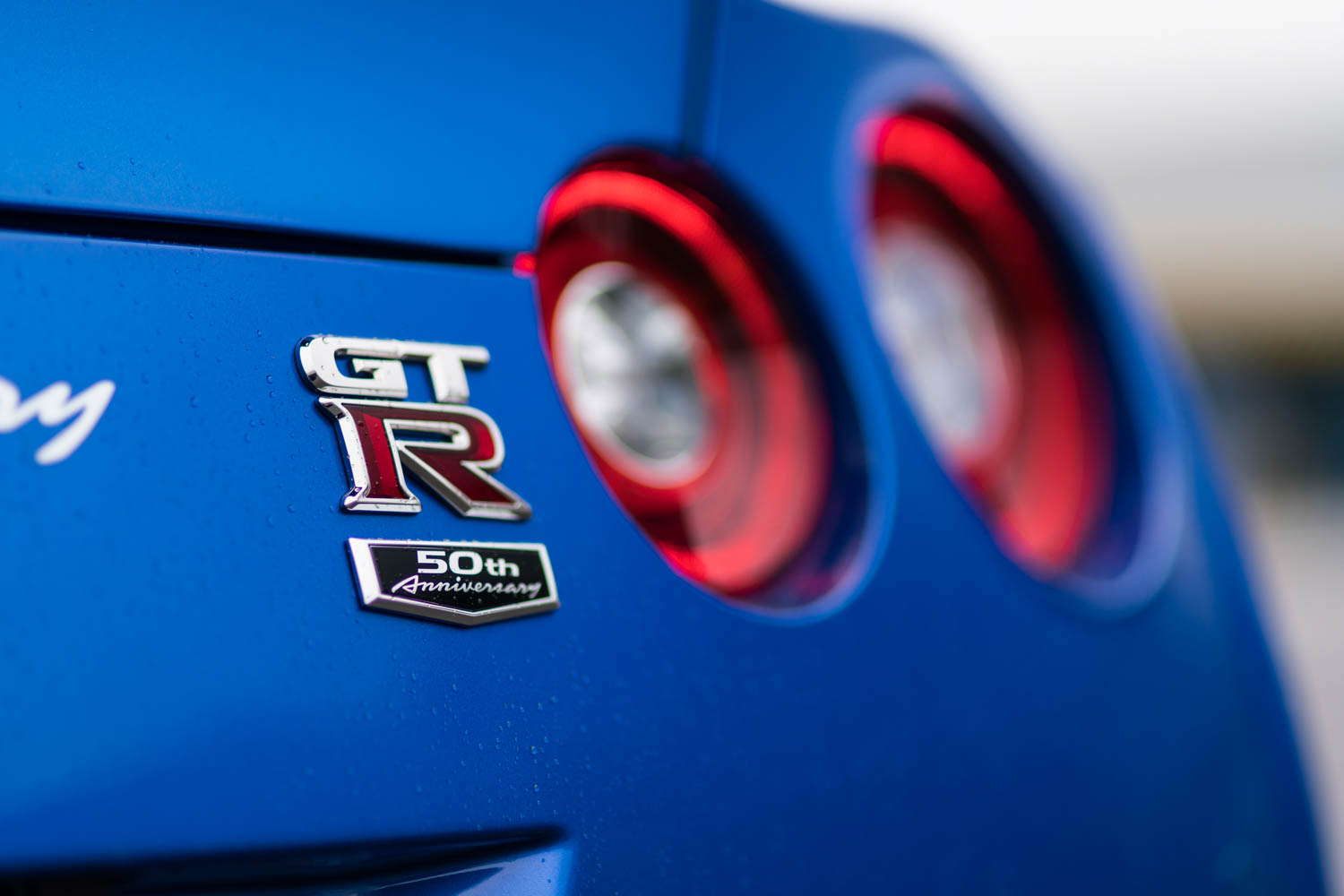 Nissan 50th Anniversary GT-R badge