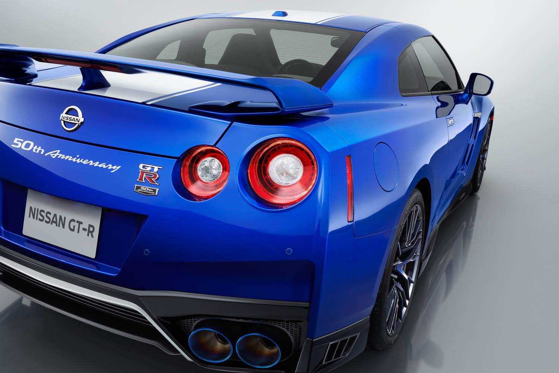Nissan 50th Anniversary GT-R rear view