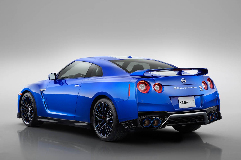 Nissan 50th Anniversary GT-R rear 3/4