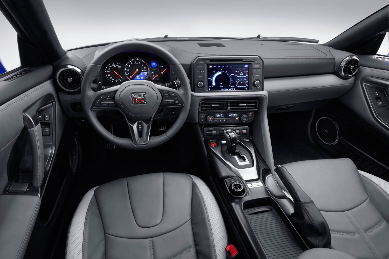 Nissan 50th Anniversary GT-R interior