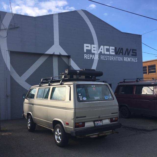 VW Peace Vans