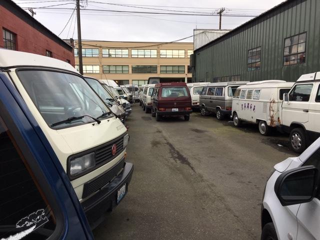 Volkswagen parking lot