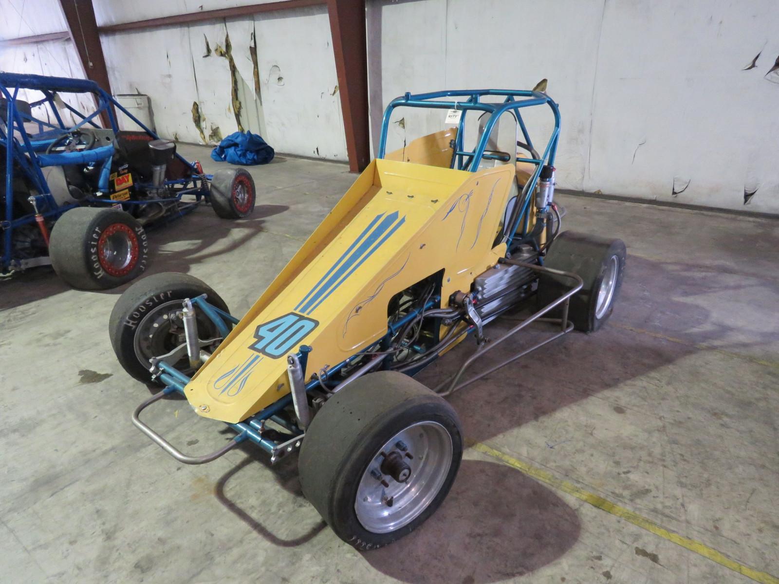 "Edmunds style ""midget"" race car"