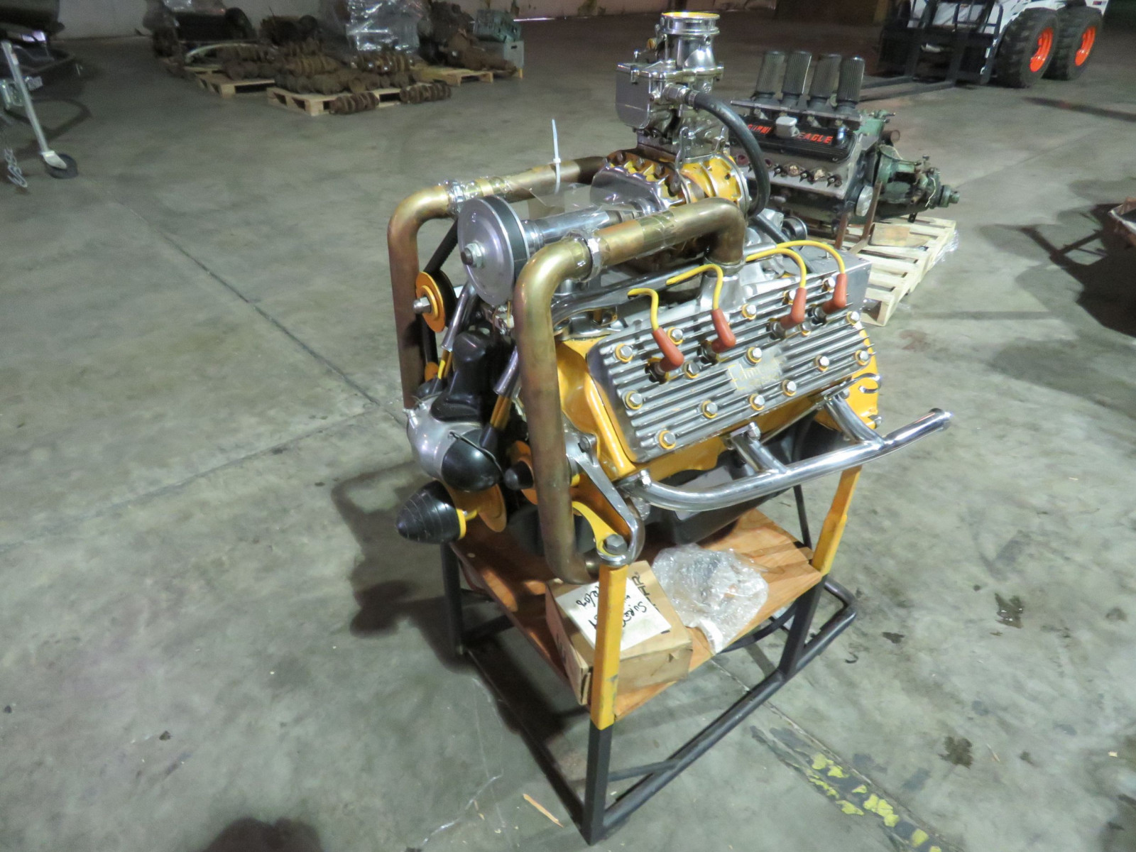 Hotrod FH Ford V8 Motor