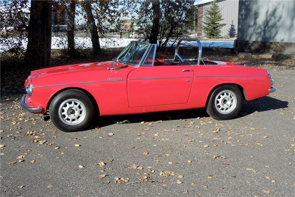 1965 Datsun 1500 side profile