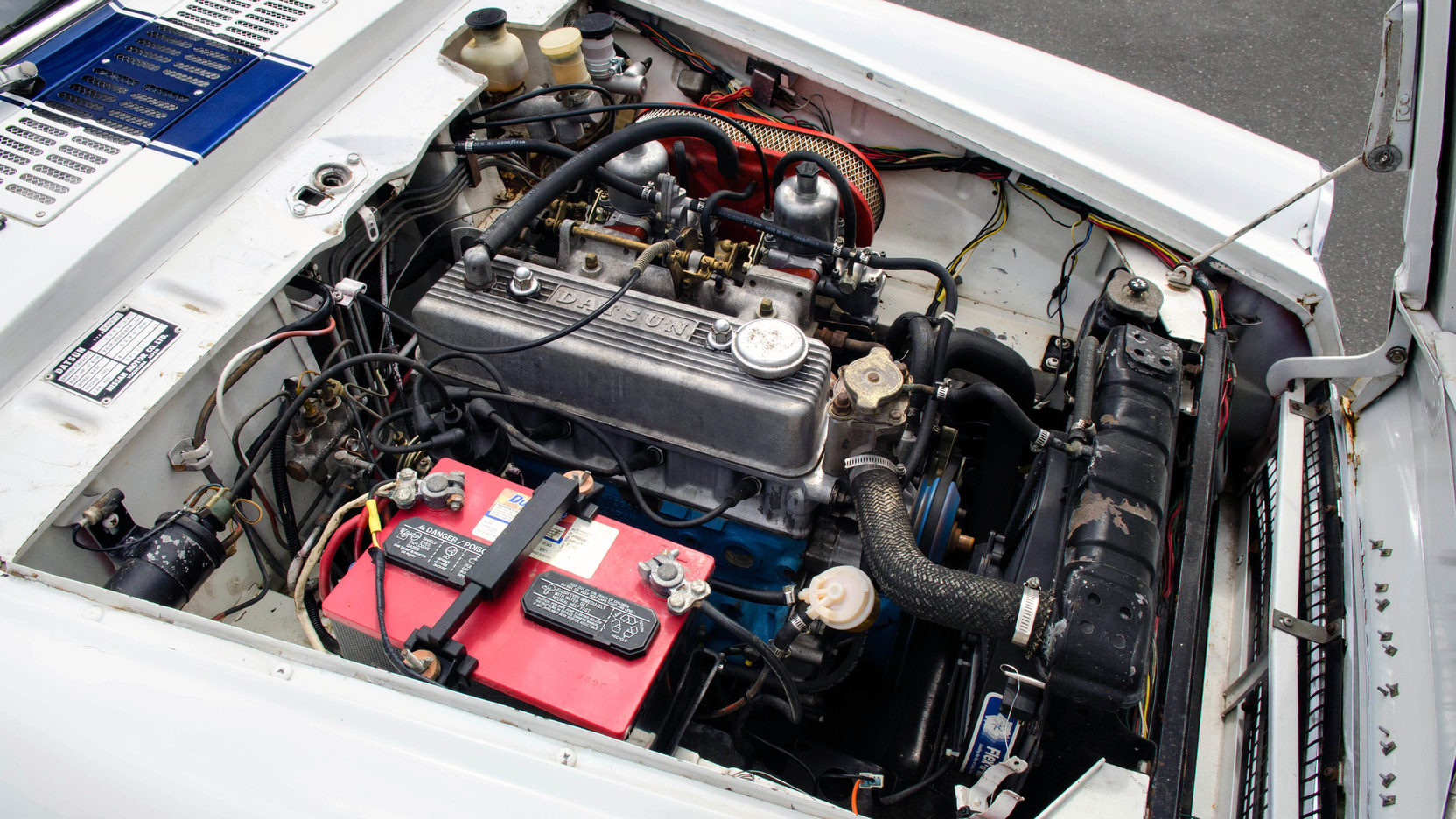 1970 Datsun 1600 engine