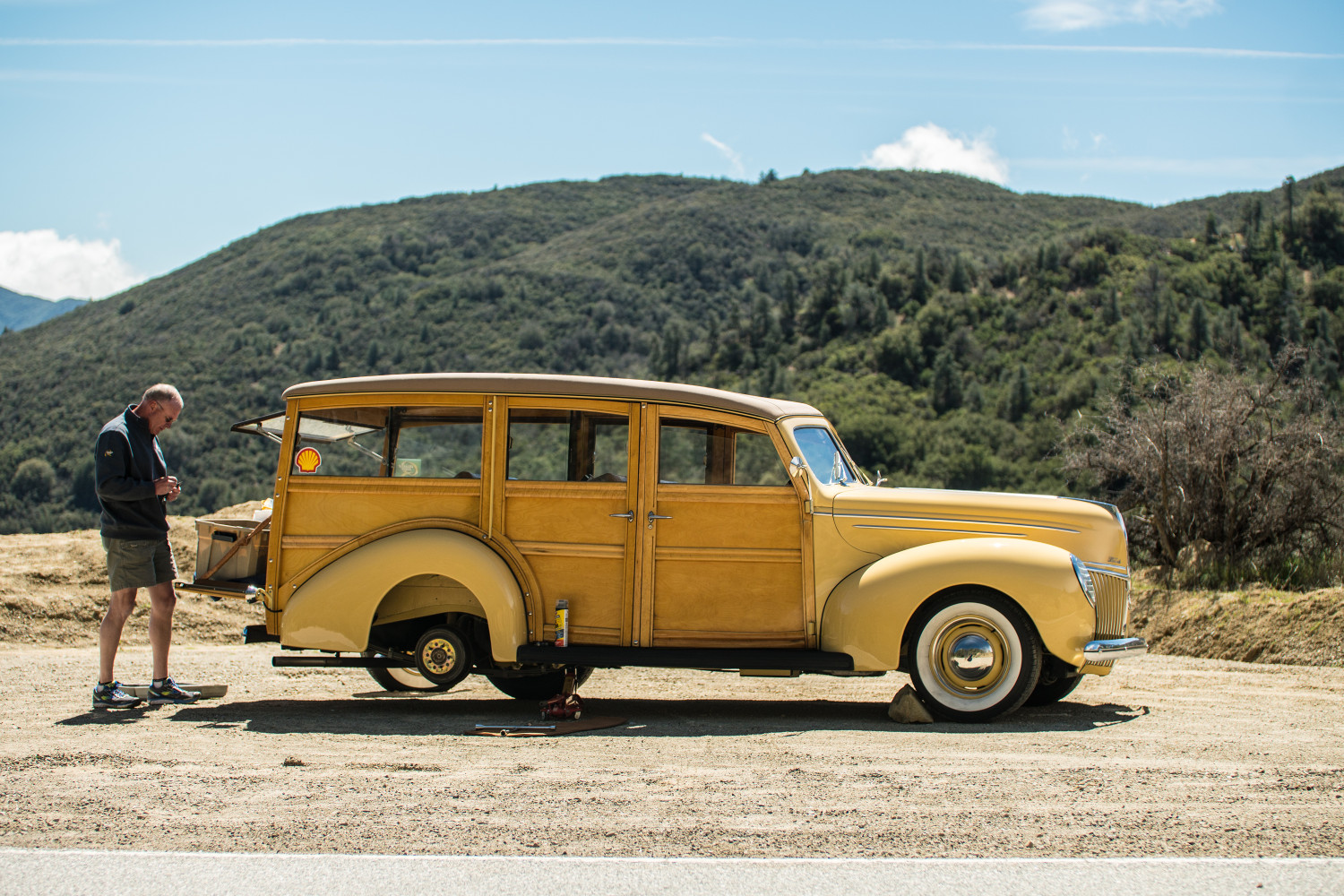 woody wagon ford tom cotter