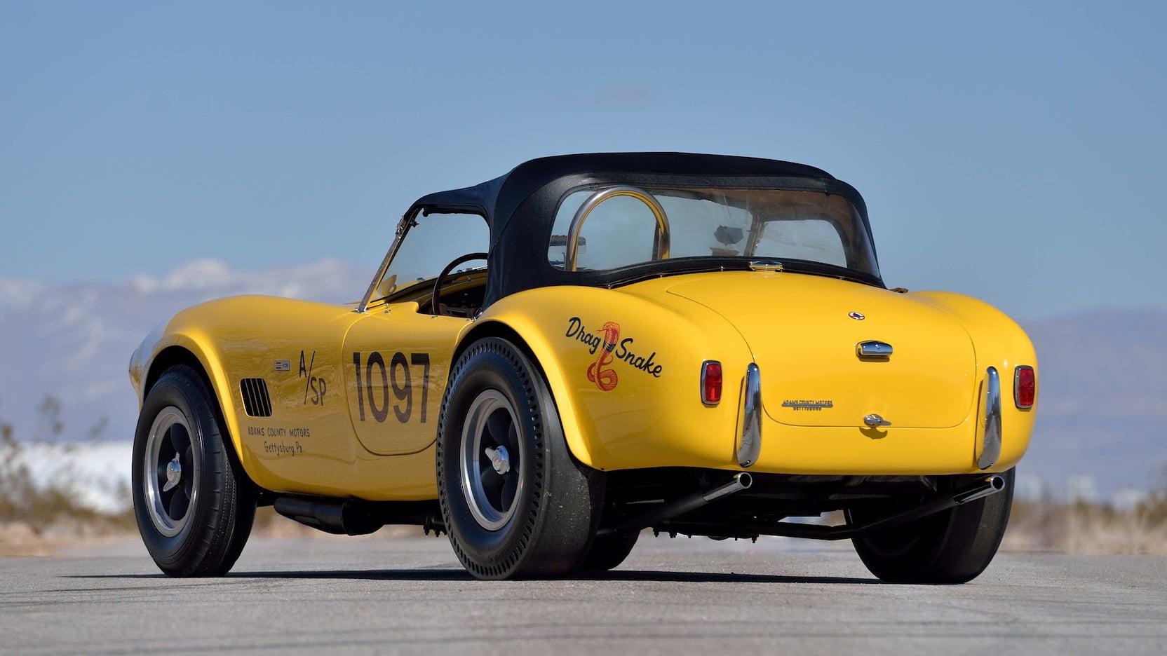 "19645 Shelby 289 Cobra Stage III ""Drag Snake"""