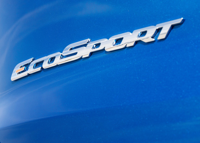 2018 Ford EcoSport badge