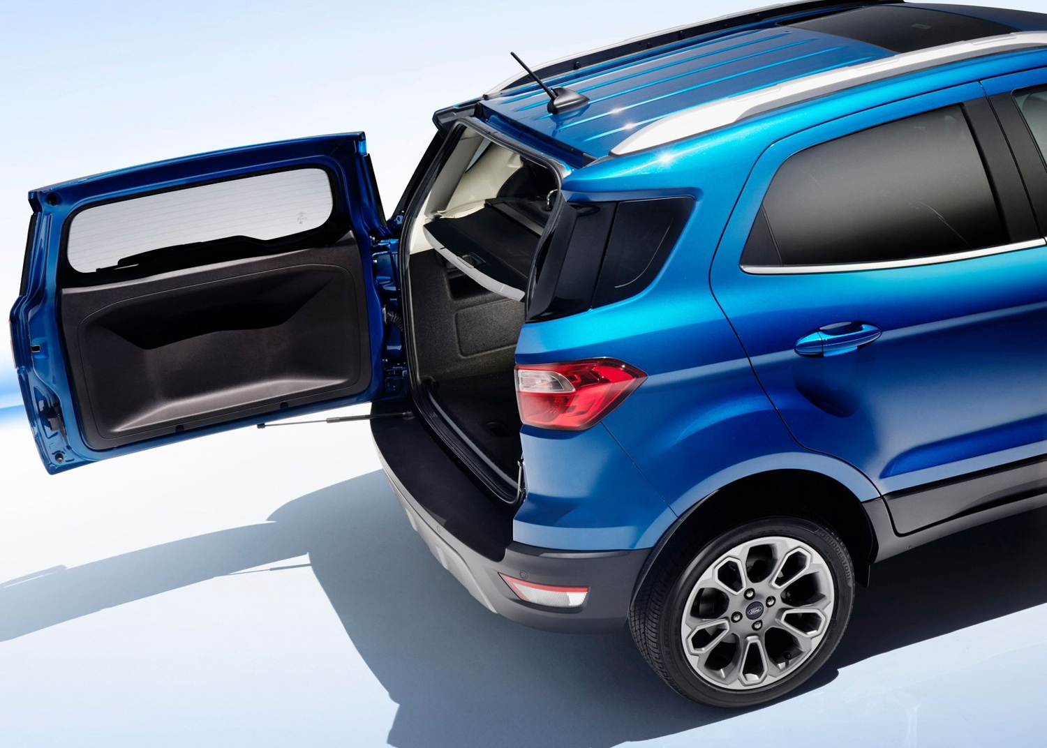 2018 Ford EcoSport tailgate