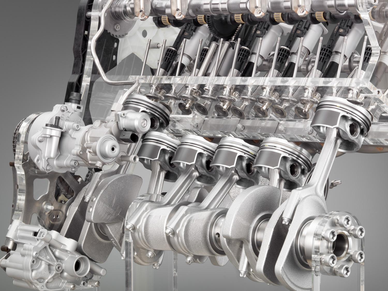 BMW Inline 6 cutaway