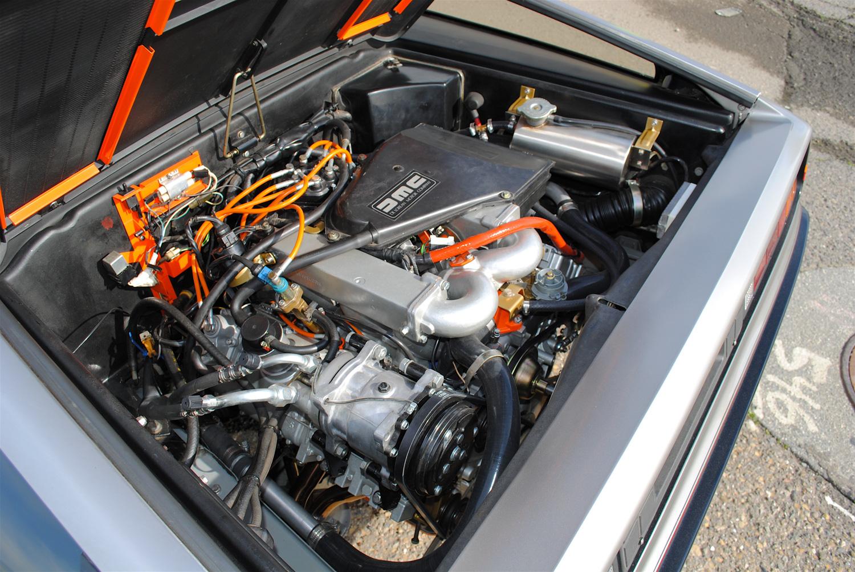 1981 DeLorean DMC-12 engine left