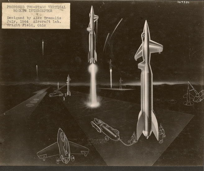 Alex Tremulis Archives space shuttle designs