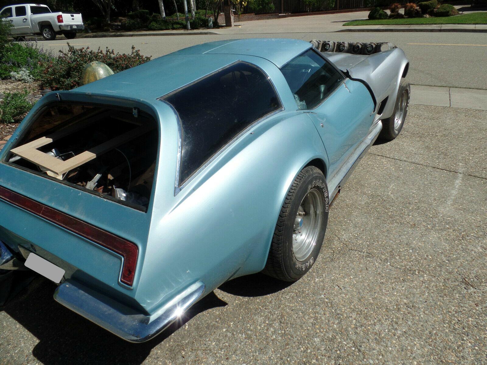 1973 Chevrolet Corvette Custom rear 3/4