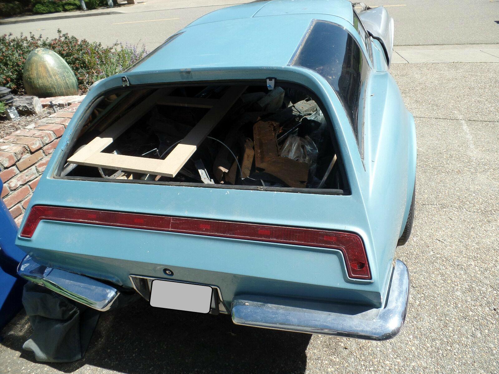 1973 Chevrolet Corvette Custom wagon rear