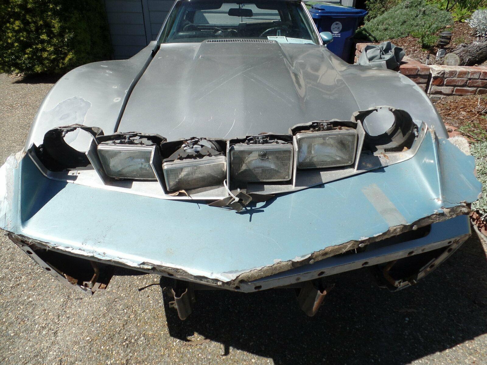 1973 Chevrolet Corvette Custom headlights