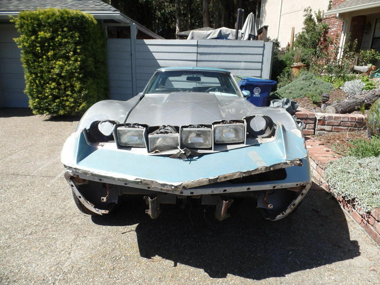 1973 Chevrolet Corvette Custom front