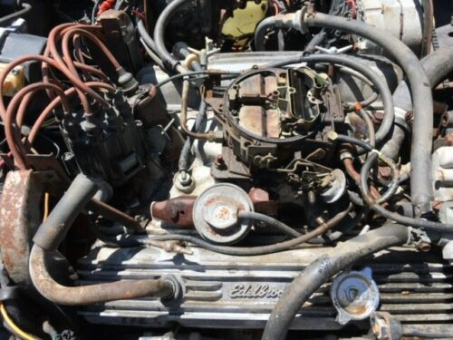 1973 Chevrolet Corvette Custom engine