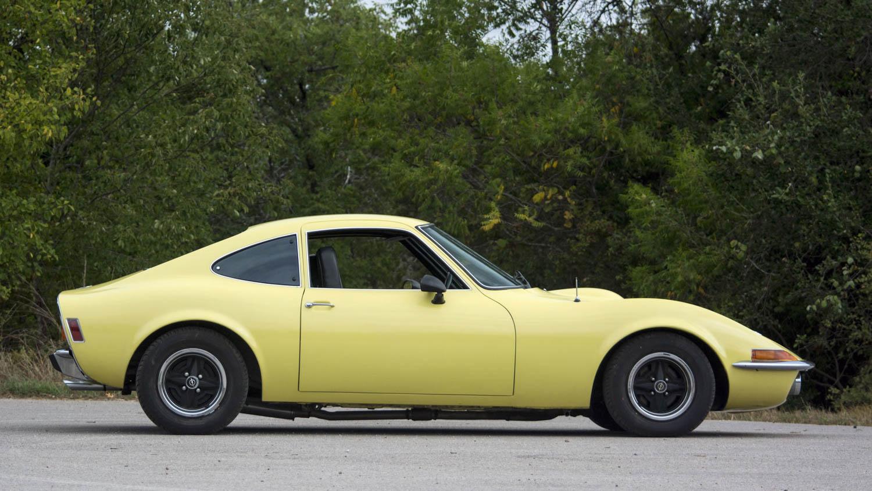 1973 Opel GT profile