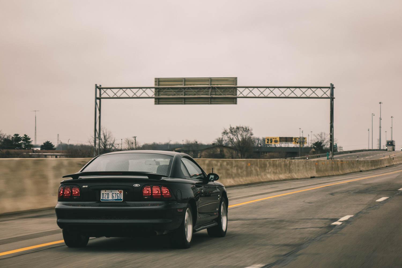 1994 Mustang Cobra driving