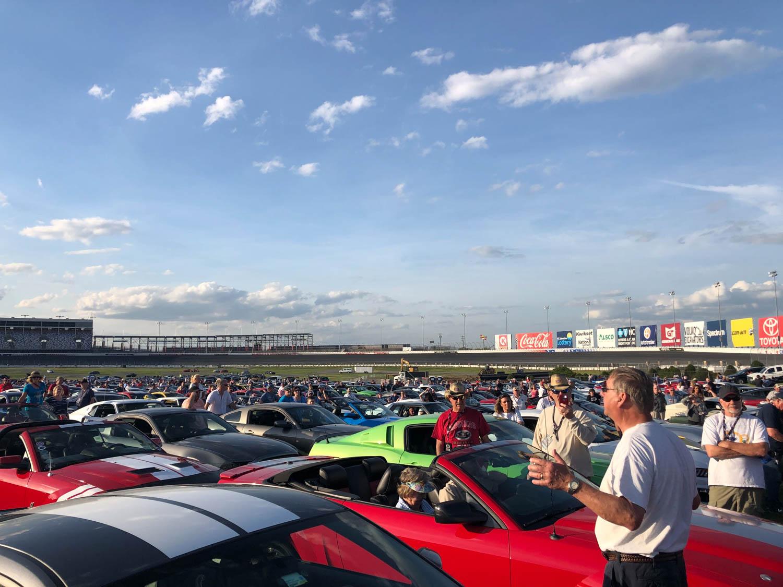 Mustang roadtrip rally