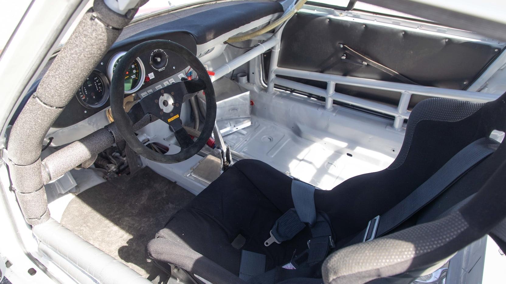 Paul Newman's 1974 Porsche 911S interior