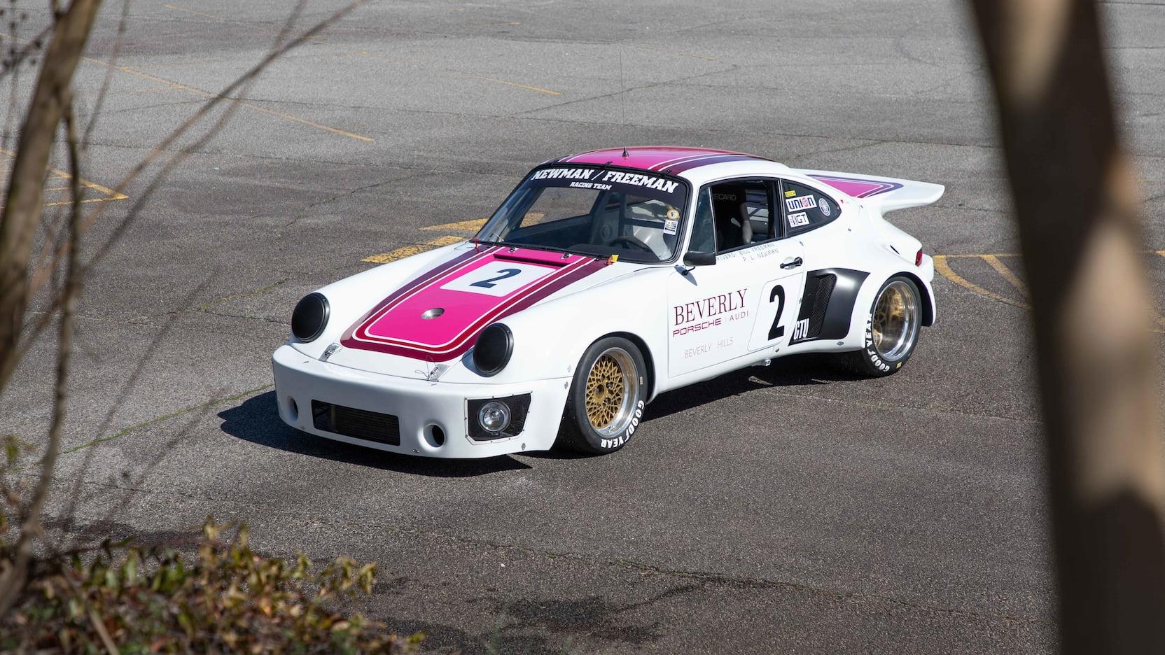 Paul Newman's 1974 Porsche 911S