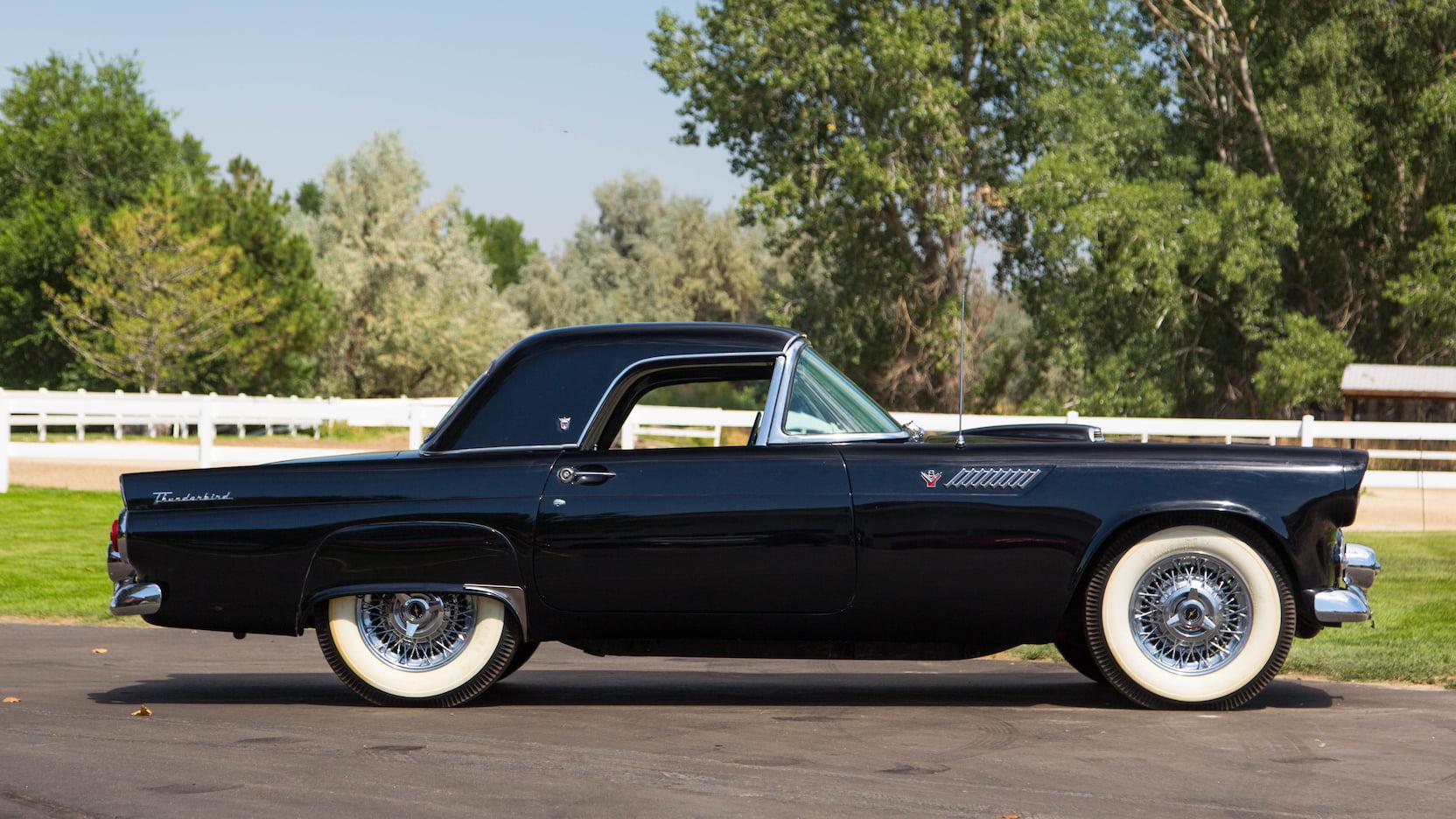 1955 Ford Thunderbird side profile