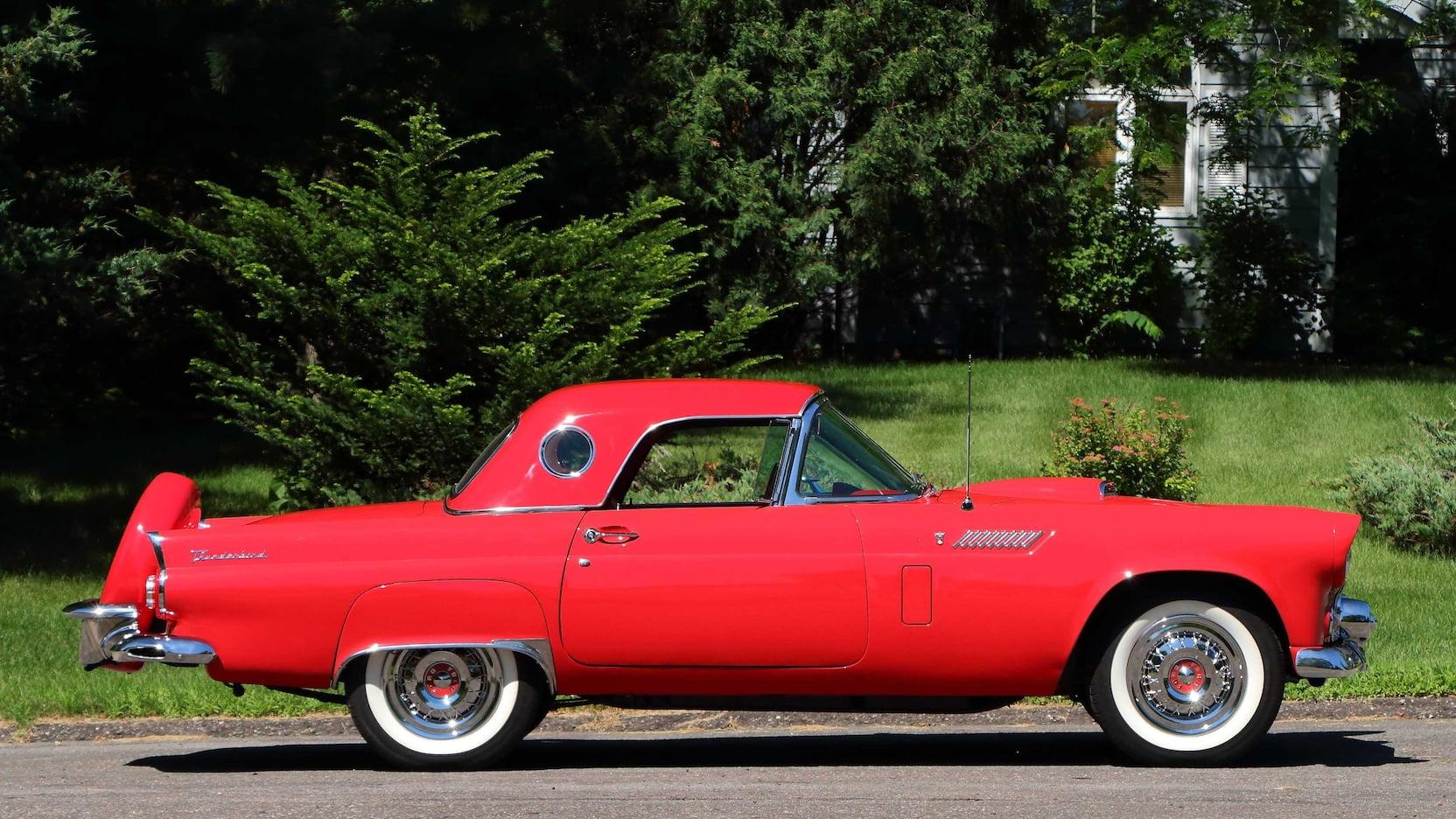 1956 Ford Thunderbird profile