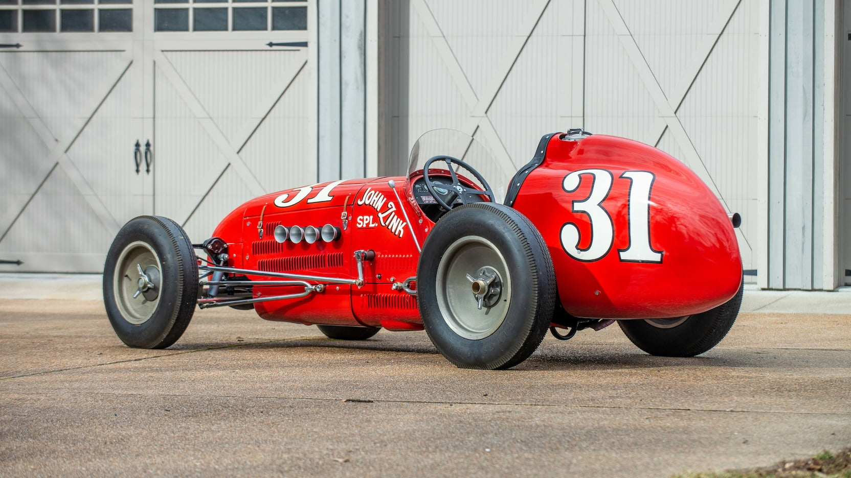 1952 Kurtis Kraft 4000 Indy Car 3/4 rear