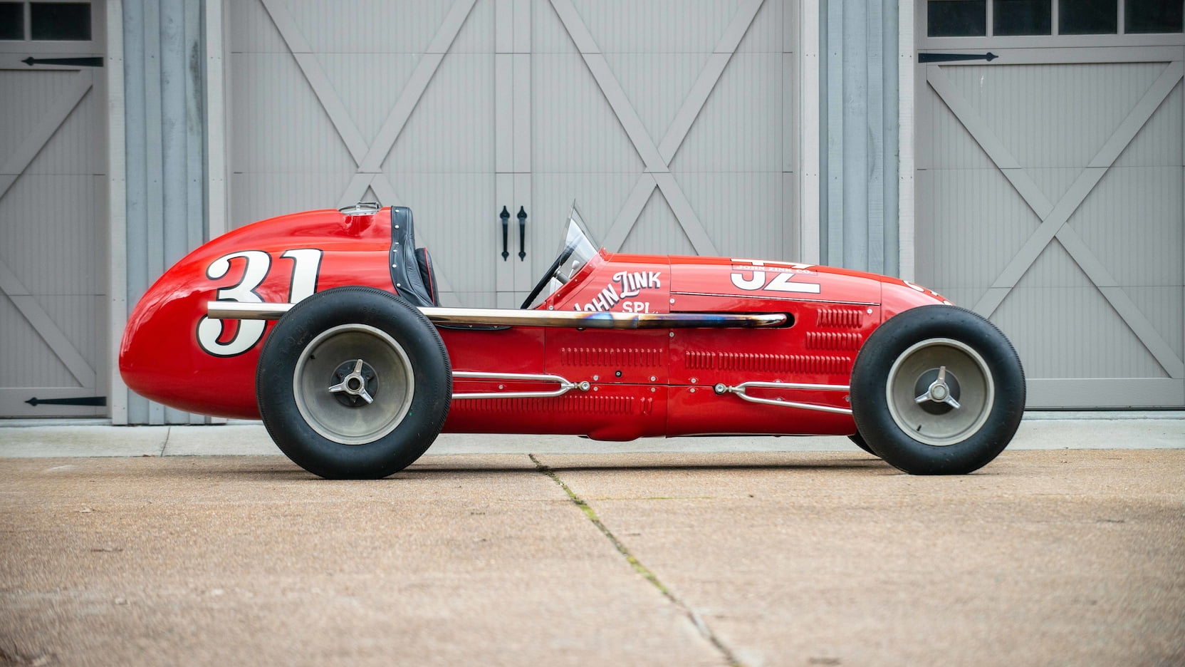 1952 Kurtis Kraft 4000 Indy Car side