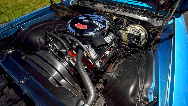 1970 Chevrolet Camaro Z/28 engine