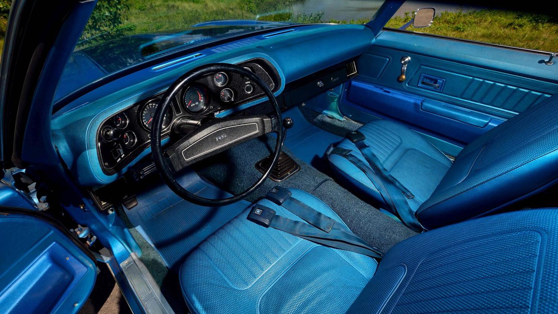 1970 Chevrolet Camaro Z/28 interior