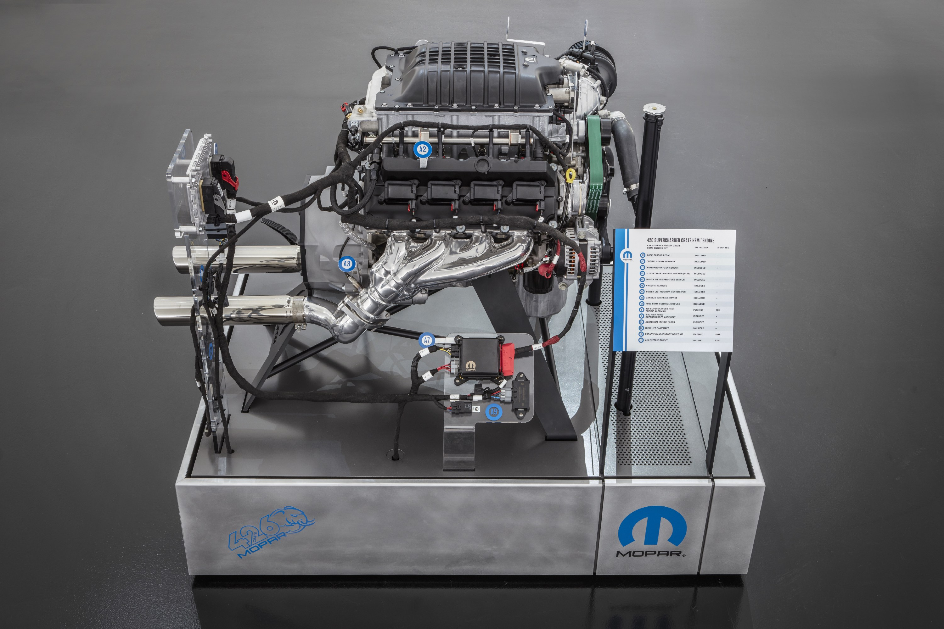 Hellephant Crate engine 1000 hp  side