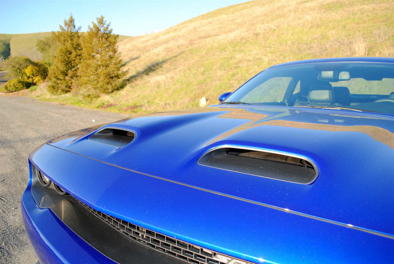 2019 Dodge Challenger SRT Hellcat Redeye hood detail